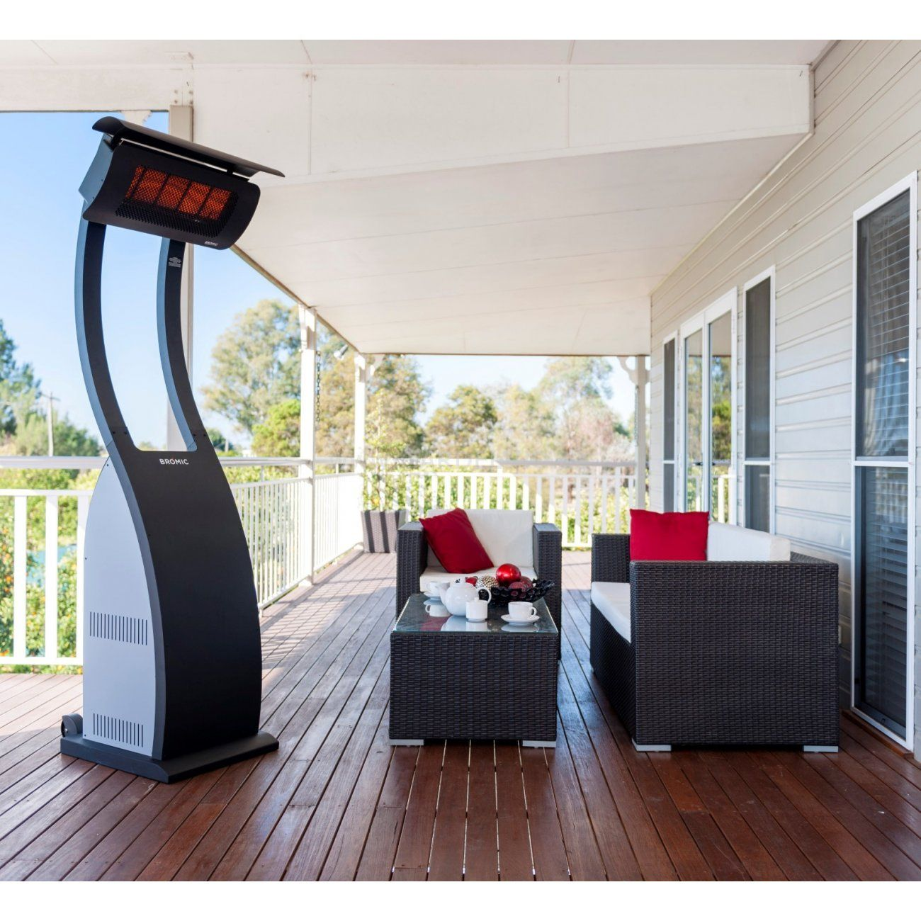 Mobiler Ir Heizstrahler Tungsten Smart Heat Portable Gartenmobel Sets Balkonentwurf Heizstrahler