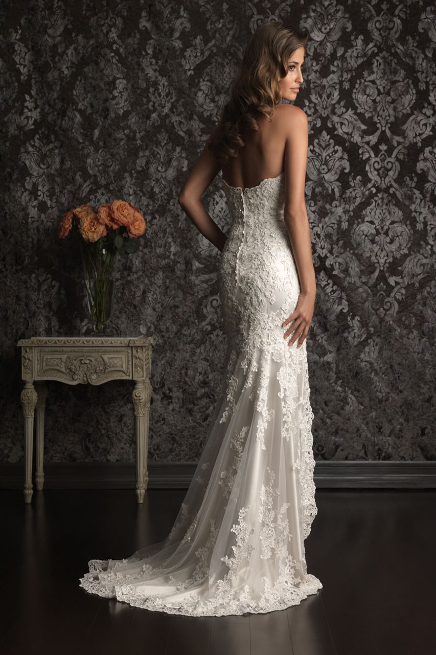 Wedding dress with short front and long back  open front bridal dresses   Open Back Short Front Long Back Lace