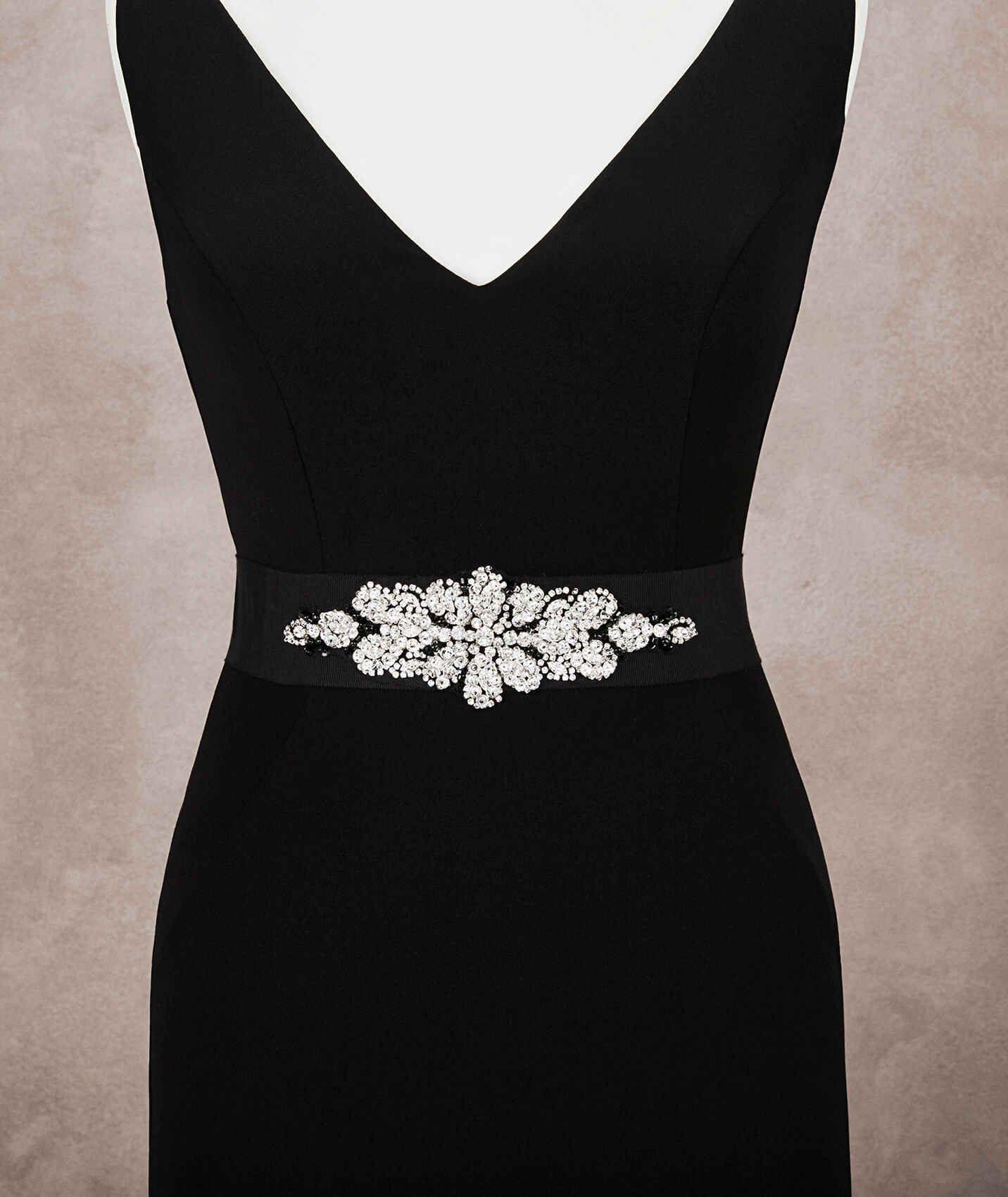 Cinturón para vestido de fiesta  ee25da02e569