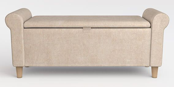 Perfect for your bedroom storage dilemma! Our Palais Storage Ottoman ...