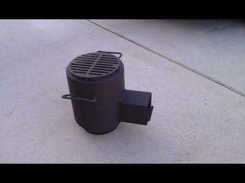 Rocket stove extra. - YouTube