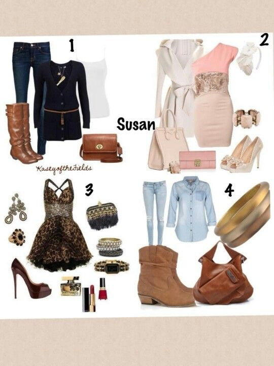 Love the boots top left! <3