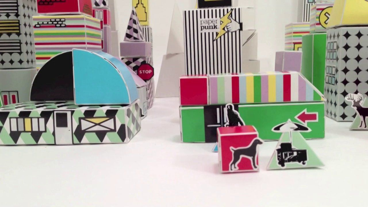 PAPER PUNK: Paper Dog Day Afternoon - Urban Fold