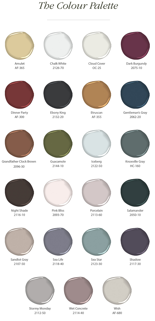 Benjamin Moore Paint Colour Of The Year 2017