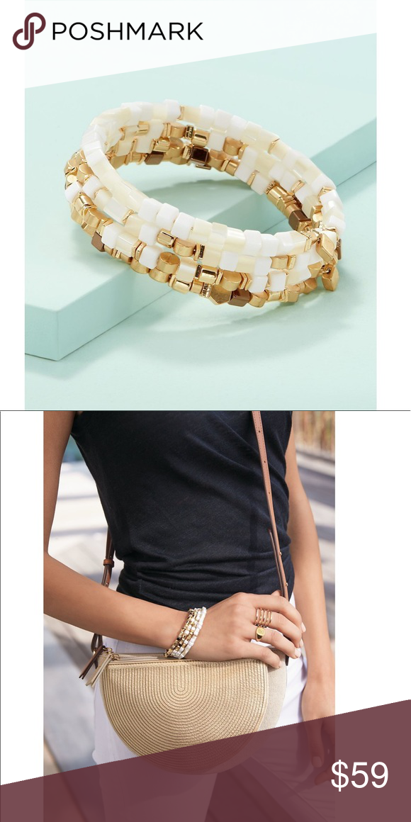 cec1d1e814a Stella & Dot Gia Coil Bracelet, NEW Stella & Dot Gia Coil Bracelet, NEW