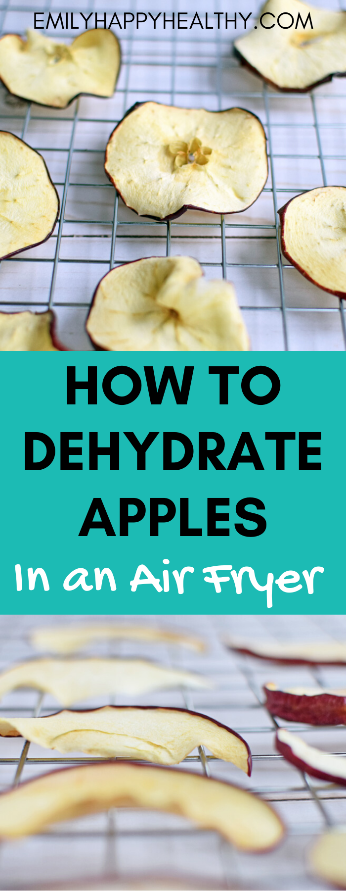How to Dehydrate Apples in an Air Fryer Dehydrated