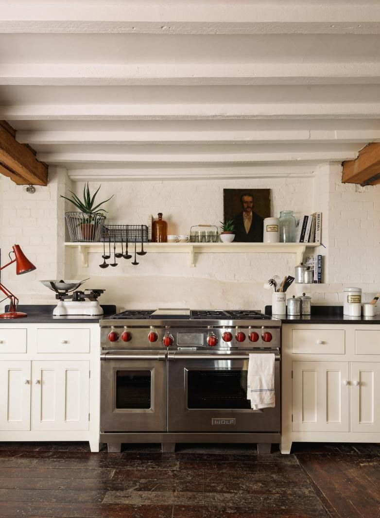 soft ethereal european country kitchen designs  country