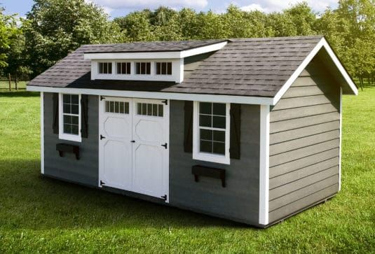 The Heritage Prefab Garden Shed Building a shed
