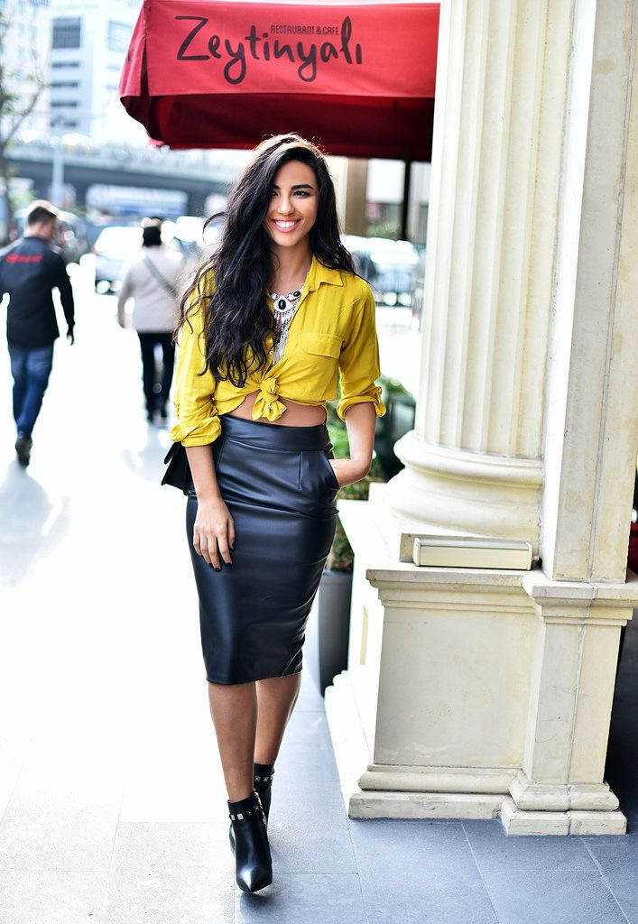 www.duygusenyurek.com.tr - Pencil Skirt