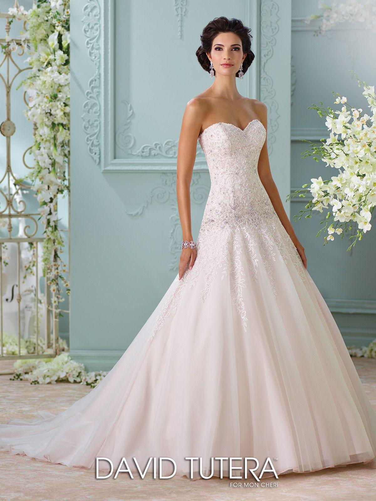 Dropped Waist Sweetheart Neckline A-Line Wedding Dress- 116214 Ora ...