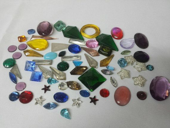 Vintage Cabochons Gems jewelry repair some sew on 5 DOLLAR SALE