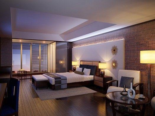 ديكورات إضاءة غرف نوم مودرن Bedroom Design Hotel Bedroom Design Perfect Bedroom