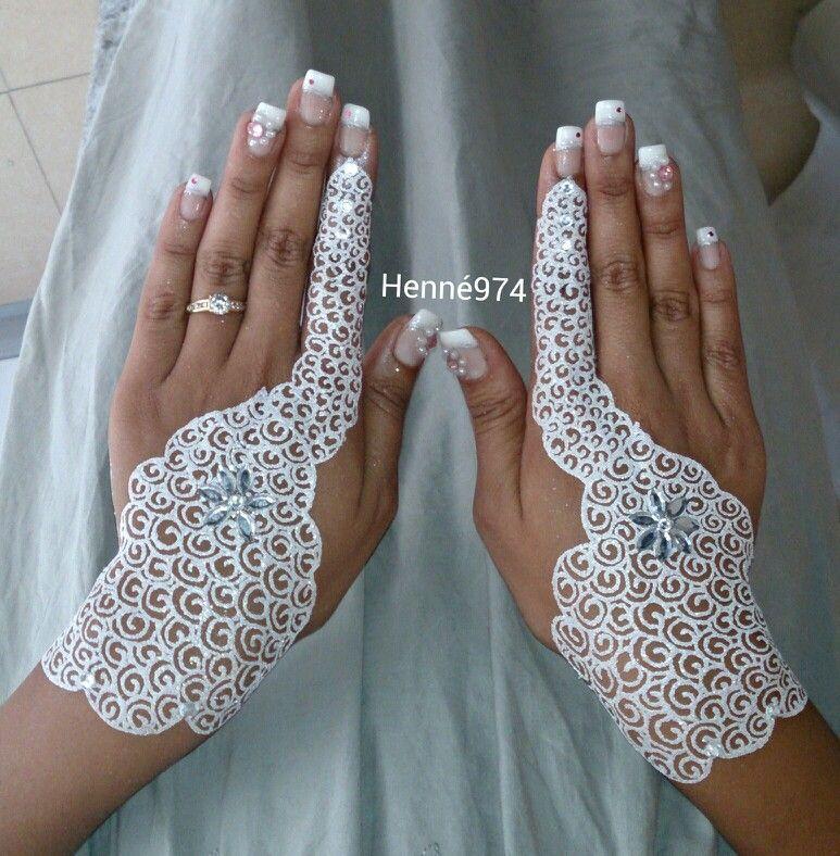 "Henné Blanc henné blanc"" | white paillettes | henna"