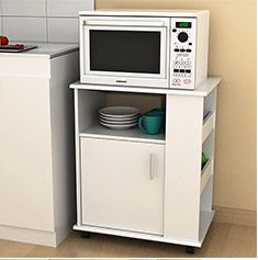 Mueble de microondas cm bco microondas - Mueble microondas leroy merlin ...