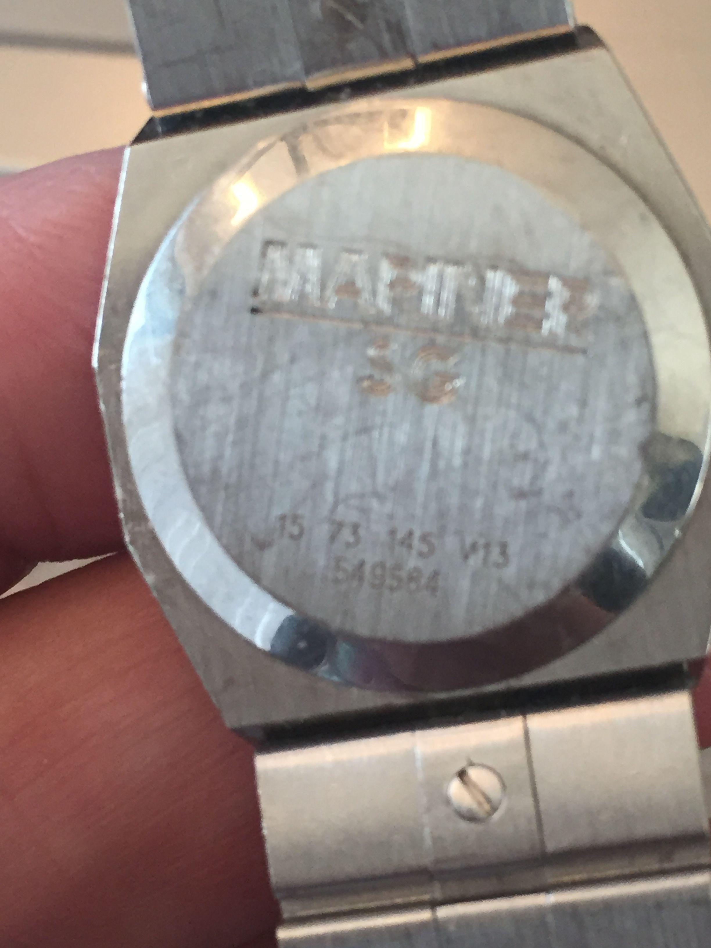 Concord Mariner Sg Watch La S 18k Bezel