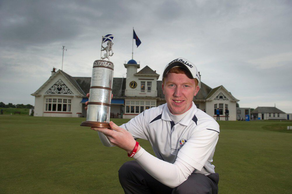 Gavin Moynihan - Carrick Neill Scottish Open Amateur Champion 2014