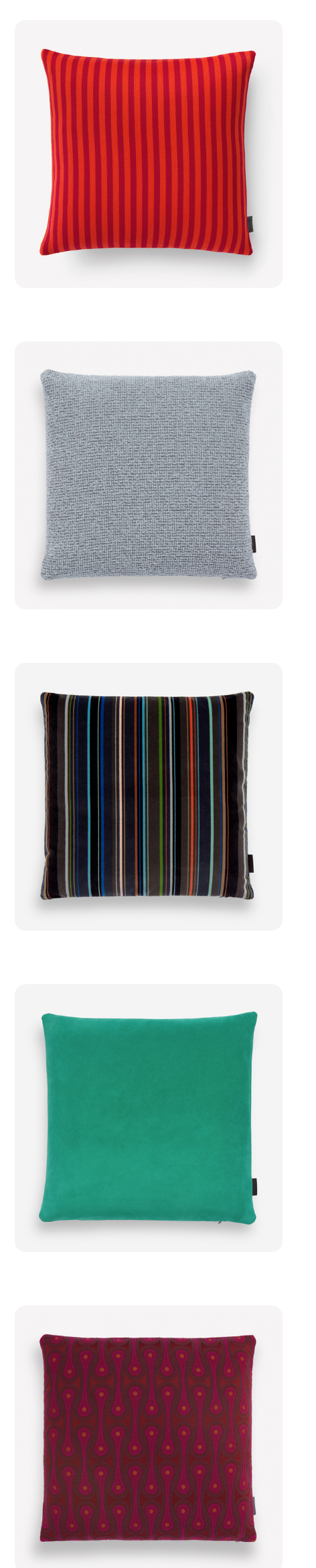Our partner maharam makes many wonderful pillows including some