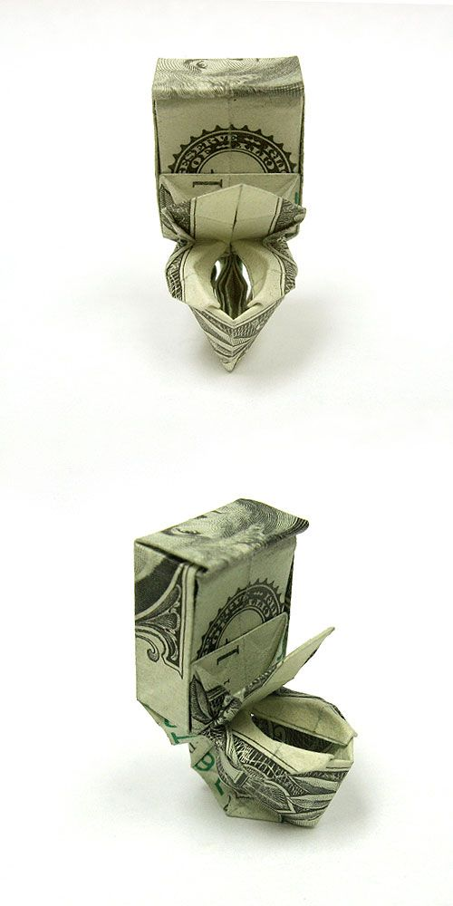 Make a Dollar Bill Origami Ninja Star | 1000x500