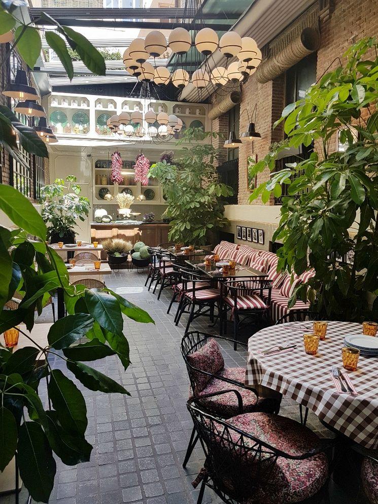 Fellina El Nuevo Italiano De Madrid Con Recetas De La Nonna Restaurantes Italianos Restaurantes Decoraciones Italianas