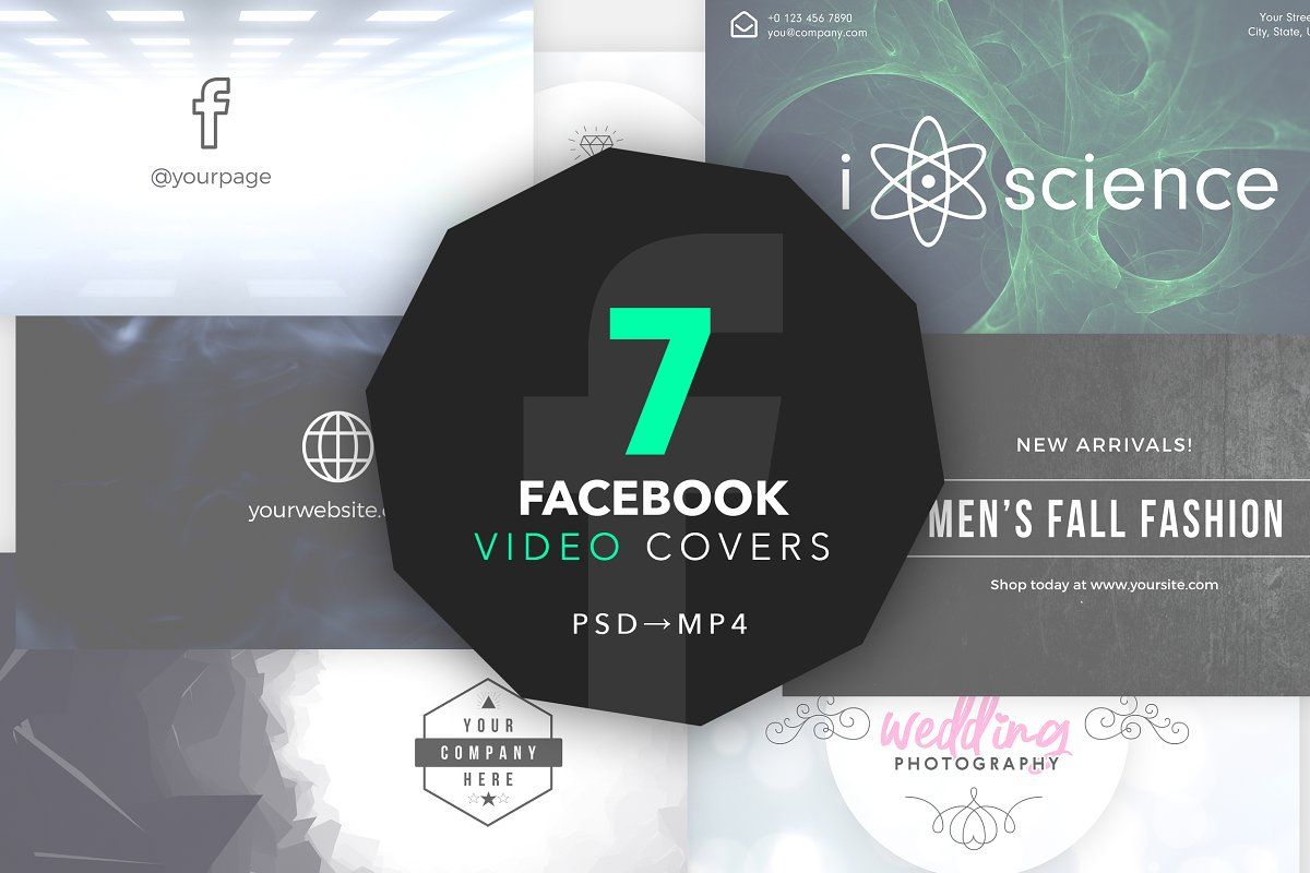 Silicon Pitch Deck Template Ppt Facebook Video Photoshop Design Creative Photoshop