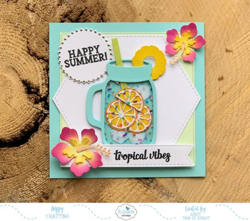 Tropical Summer Card Cardmaking And Papercraft Card Making Paper Paper Crafts