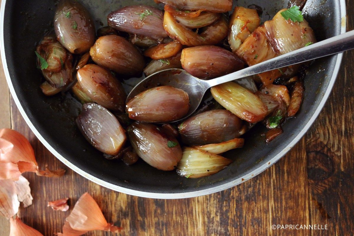 Caramelized shallots and fennel caramelized shallots