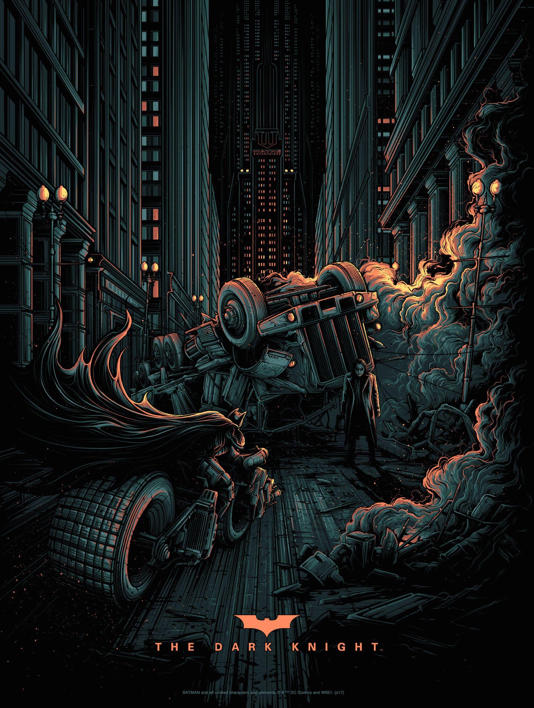 Dark Knight Dan Mumford #danmumford #batmanprint