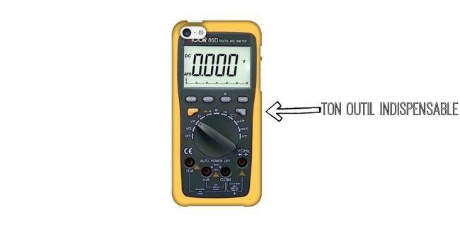 [TOPITRUC] Une coque pour iPhone qui fait aussi ampèremètre