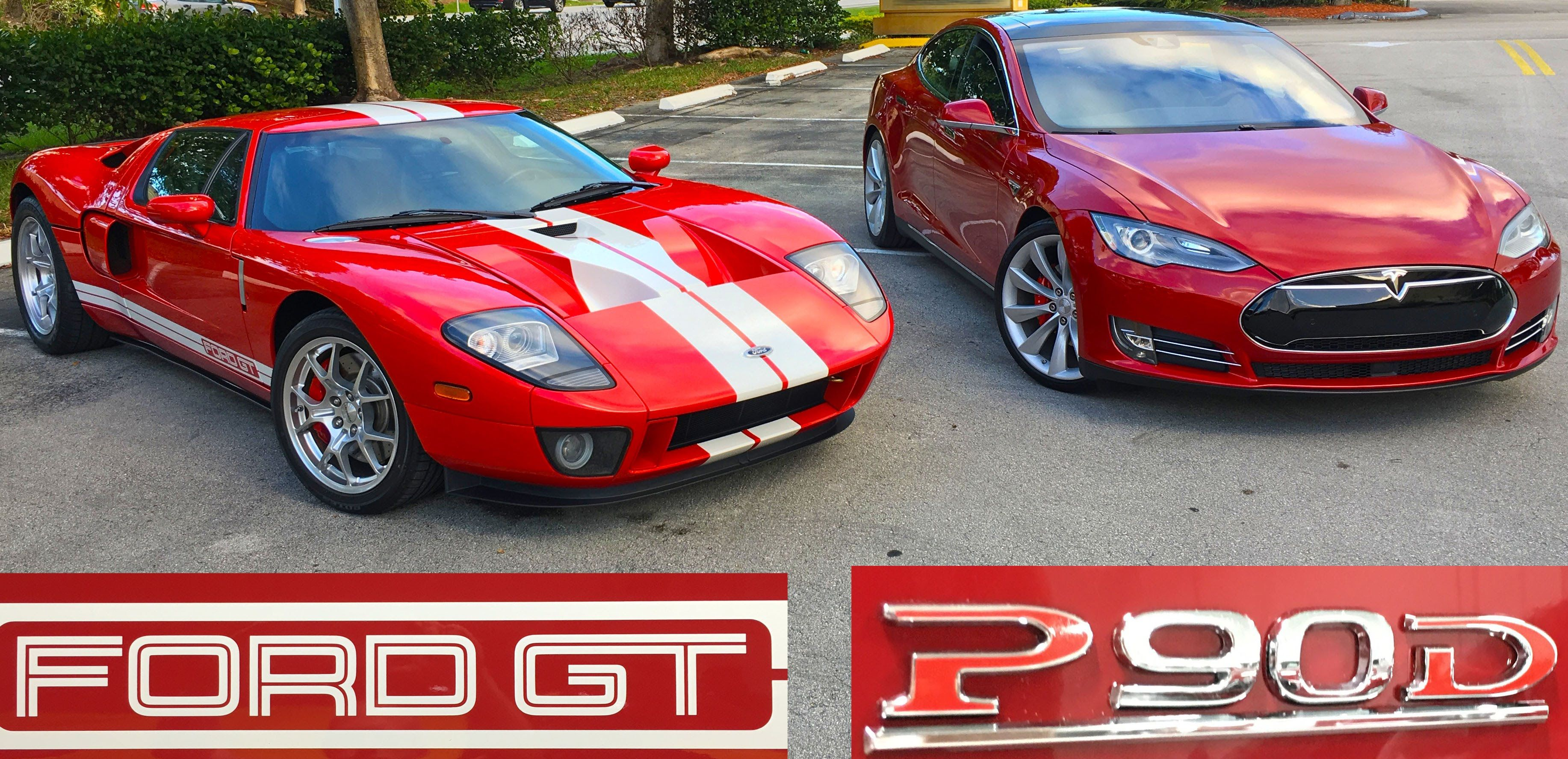 An Electric Car Beats A Ford Gt Ok To Be Honest The Electric