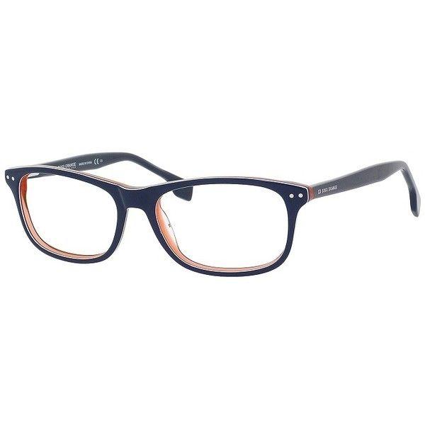 Hugo Boss Orange 0056 Blue White Orange Frame Eyeglasses ($81 ...