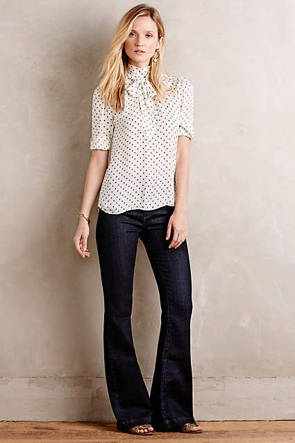 AG Janis Flare Jeans - #anthrofave