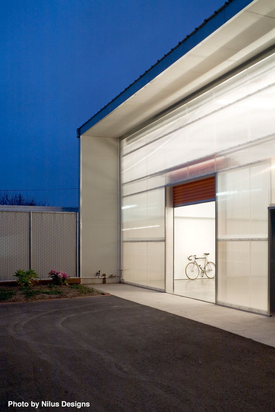 Modern Garage With An Open View Inside As Time Moves On More And More Garages Are Choos Garage Door Opener Installation Garage Door Installation Garage Doors