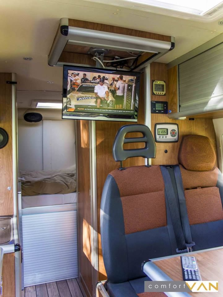 pingl par jose gil sur camper pinterest camping car fourgon camping car et camion amenager. Black Bedroom Furniture Sets. Home Design Ideas