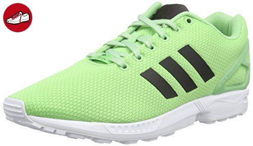 sale retailer 46d97 37c40 adidas Originals ZX Flux AF6345, Herren Low-Top Sneaker, Grün (Super Green