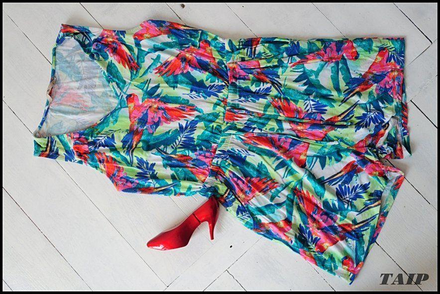 Tu Kombinezon W Kwiaty Kieszenie 40 6127568387 Oficjalne Archiwum Allegro Fashion Women S Top Women