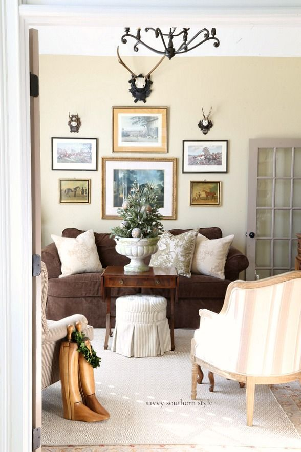 french country christmas sitting room all things french country rh pinterest com