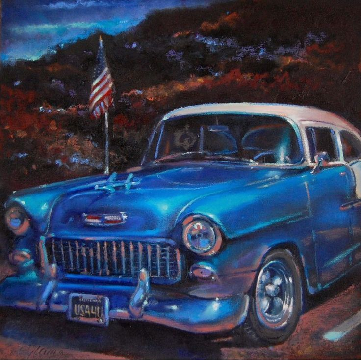 """#dailygratitude – Red White and Blue 8/22/2019 """"Old Faithful"""" – Classic Car …"""