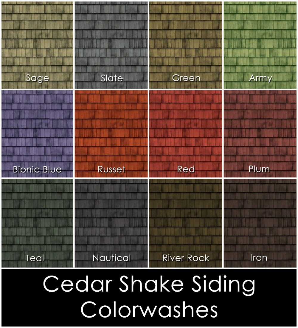 Cedar Siding Stain Colors - Google Search