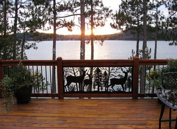 Assez Garde-corps en verre, bois ou métal pour le balcon moderne  LB09