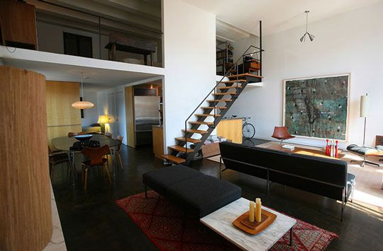 always dreamed of living in a nice big open loft like this ...
