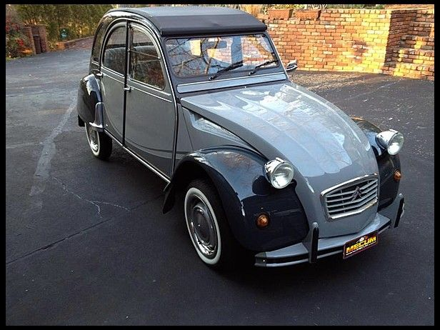 2cv charleston decapotable