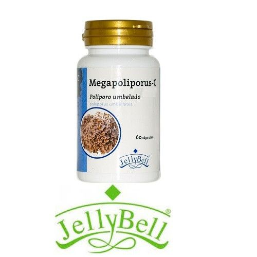 Megapoliporus C (Polyporus Umbellatus) 60 cápsulas Jellybell