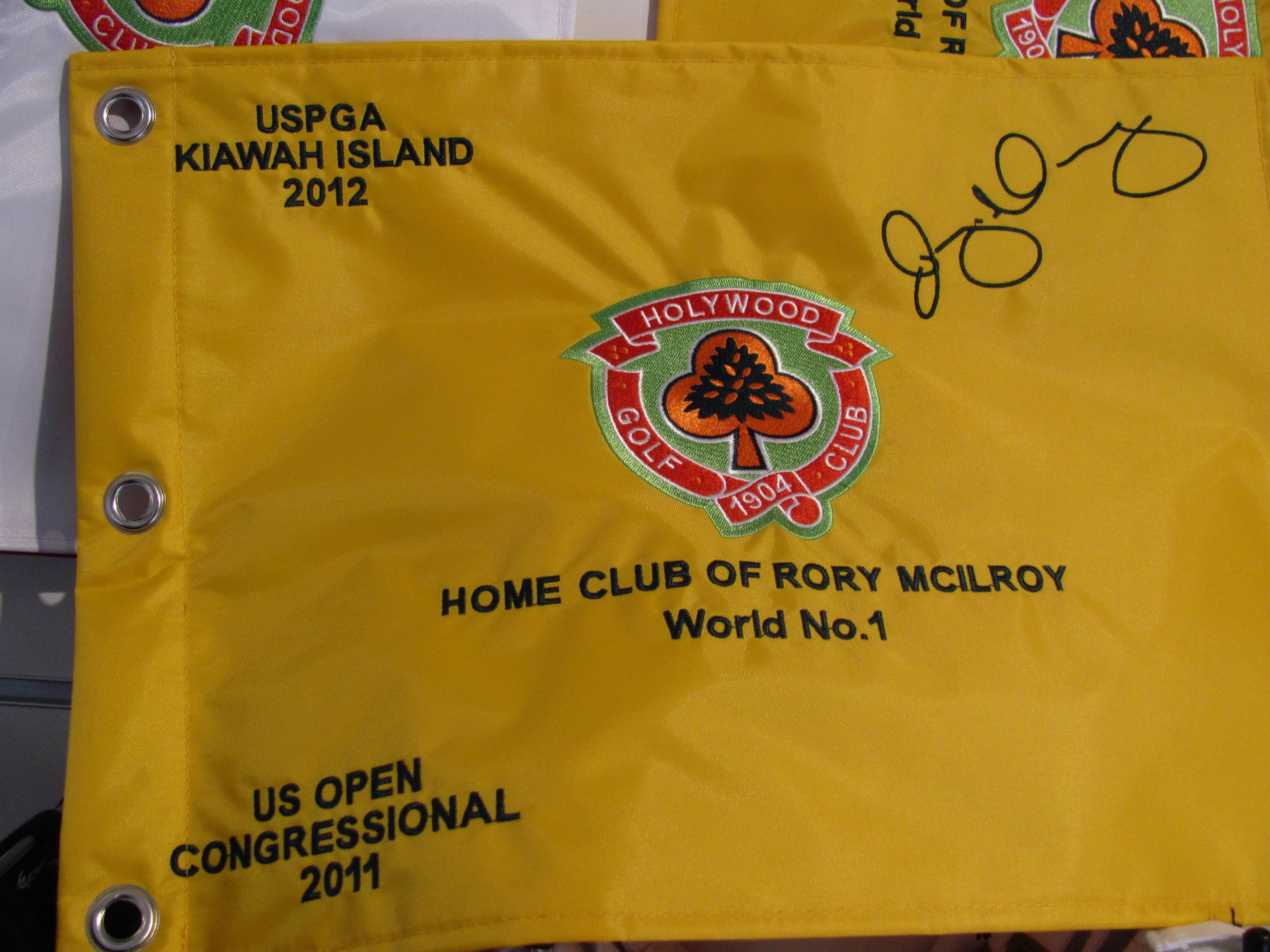 Flag From Rory S Home Course Holywood Gc Near Belfast Ireland Fun Sports Rory Mcilroy Play Golf
