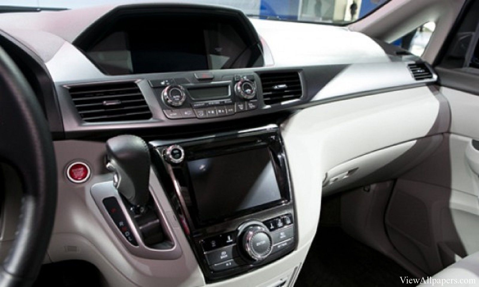 2017 Honda Odyssey Interior Viewallpapers Pinterest
