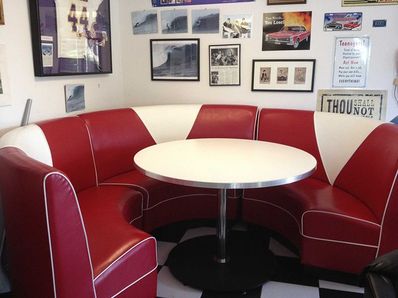 How To Build A 50s Diner Booth Small Dining Room