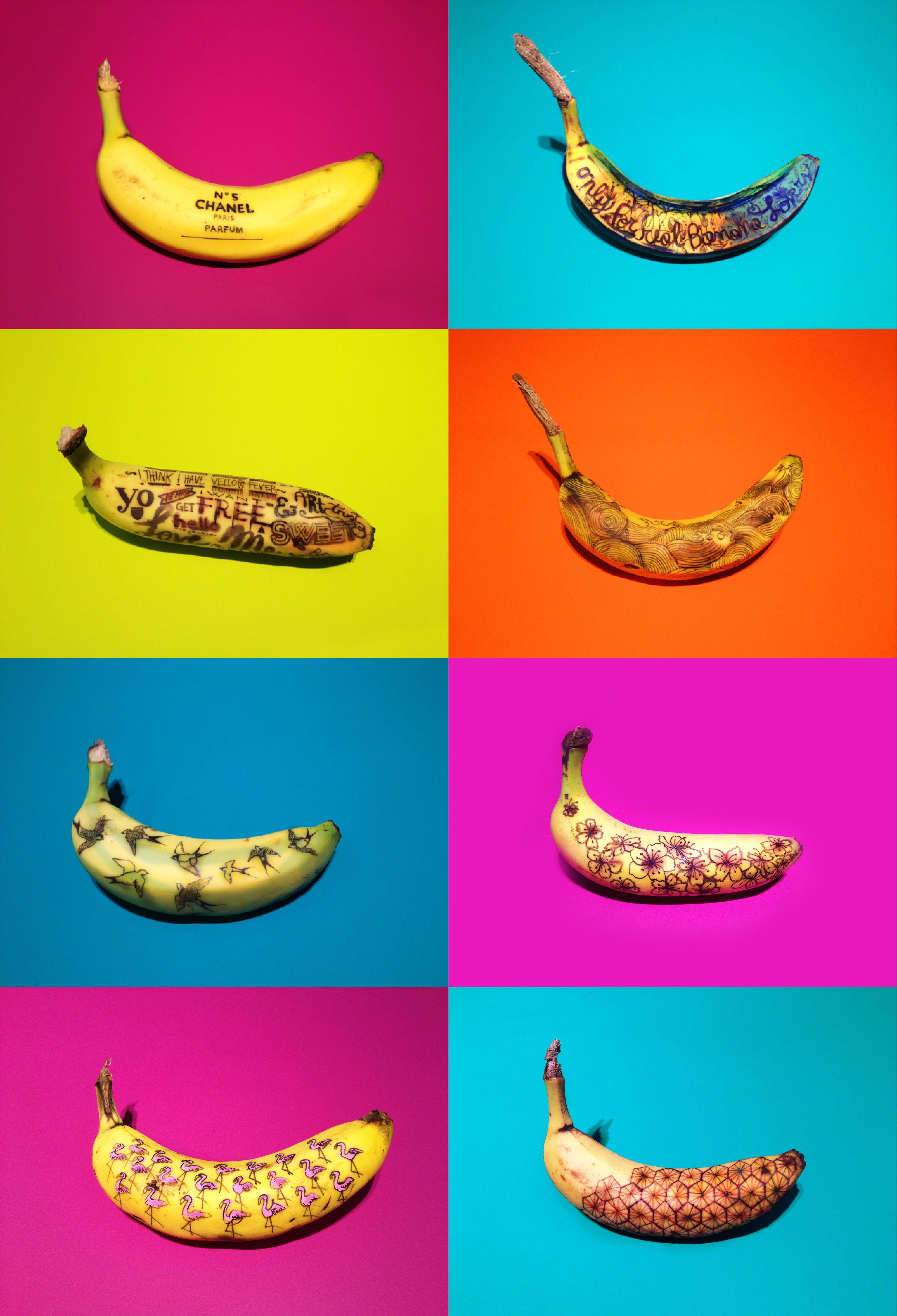 Mylifestylenews Banana Graffiti Marta Grossi For Pedder Red