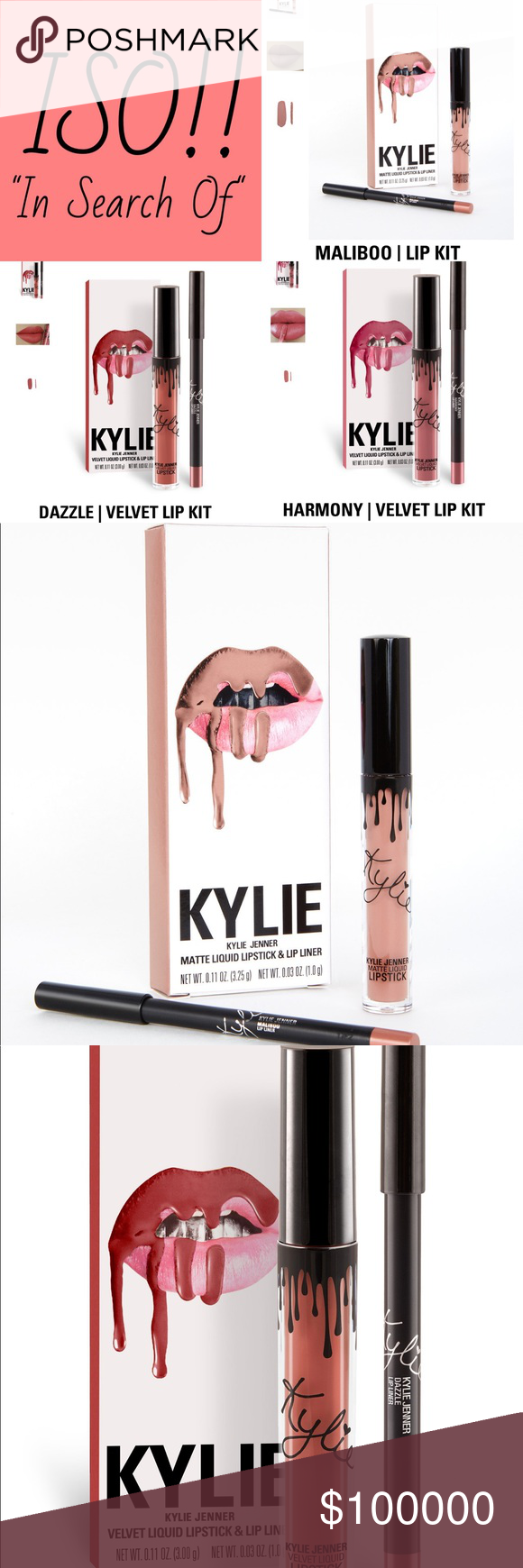 Maliboo Lip Kit By Kylie Cosmetics: Kylie Lip Kit Box, Lip Kit And Kylie