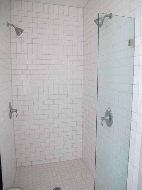 Break Up Subway Pattern And Save On Tile By Adding Vertical