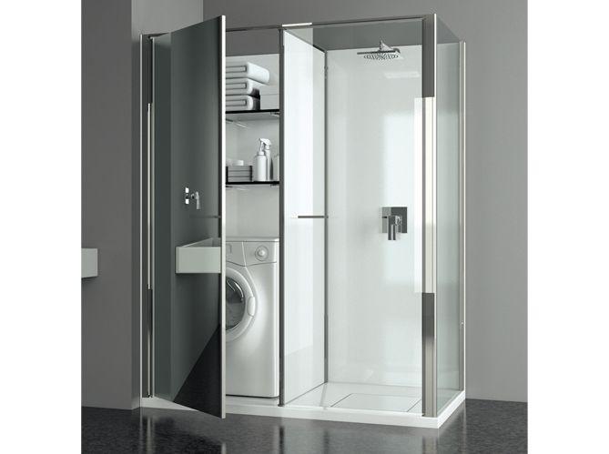 avec une mini buanderie id es pour la maison pinterest minis salle de bains et salle. Black Bedroom Furniture Sets. Home Design Ideas