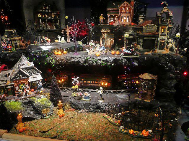 halloween village at the incredible christmas place pigeo flickr - Incredible Christmas Place